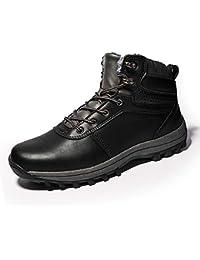 834483f8c987 DUORO Herren Warm Gefüttert Stiefel Winterschuhe Wanderstiefel Outdoor Schneestiefel  Winter Boots