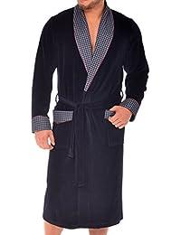 Robe de chambre pour hommes Revise Vasco RE-104 Velours