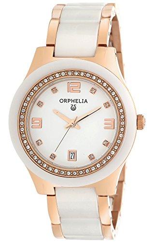 Orphelia - 13504 - Montre Femme - Quartz - Analogique - Bracelet céramique multicolore