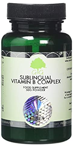 G&G Vitamins Sublingual B Complex Powder