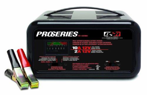 SCHUMACHER ps-1022ma DSR ProSeries 2/10Amp 12Volt automatische oder manuelle Bench Akku Ladegerät