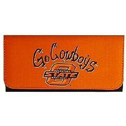 NCAA Oklahoma State Cowboys Ladies Saddle Wallet