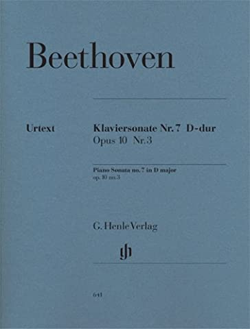 Piano Sonata No. 7, D Major, Op. 10, No. 3