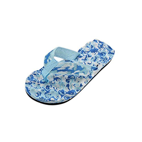 Flip flops, FEITONG Sommer Schuhe Sandalen Pantoffel im Freien Outdoor Flip-Flops Blau
