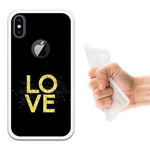 iPhone X Hülle, WoowCase Handyhülle Silikon für [ iPhone X ] Friends Forever Rühreier mit Speck und Toast Handytasche Handy Cover Case Schutzhülle Flexible TPU - Transparent Housse Gel iPhone X Transparent D0435