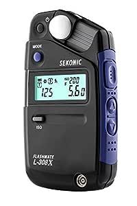 Sekonic L-308X Flashmate Light Meter (Black)