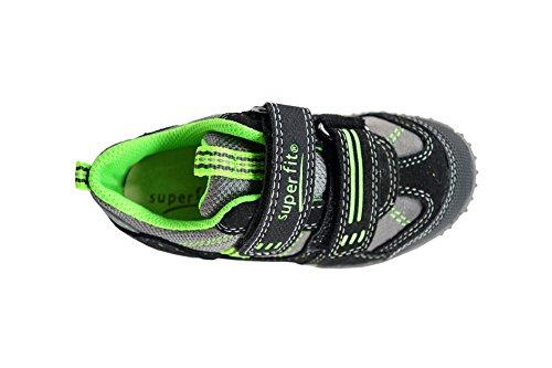 Superfit  LUMIS MINI, Baskets premiers pas bébé Noir/gris/vert