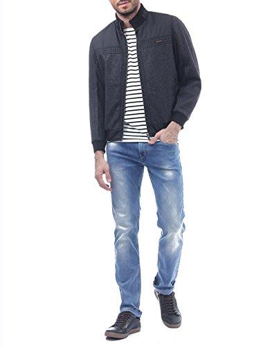 Monte Carlo Men's Casual Jacket (_8907501324043_Black_42_)