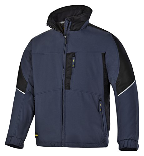 Snickers Power Winter Jacke schwarz, Gr.  XL Regular navy-schwarz