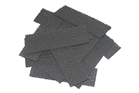 Generic Compatible CARBON Foam Filters Non-Branded But Suitable For Fluval U4 Filter (Pack of 50)
