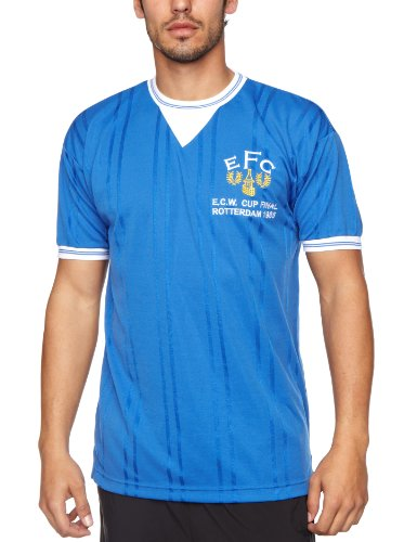 Score Draw Official Retro Everton - Camiseta de fútbol para...