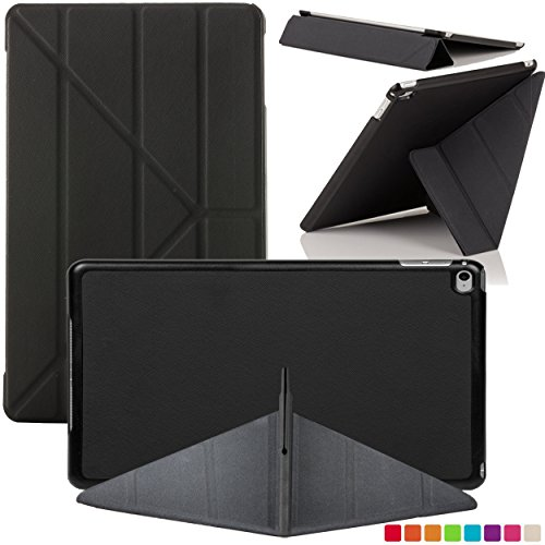 Forefront Cases® Neue Origami Hülle / Tasche / Case / Cover für Apple iPad Air 2 / 2nd Generation A1566 (Oktober 2014) - Ultra Slim Lightweight mit vollem Geräteschutz (Best Cases Für Ipad Air 2)