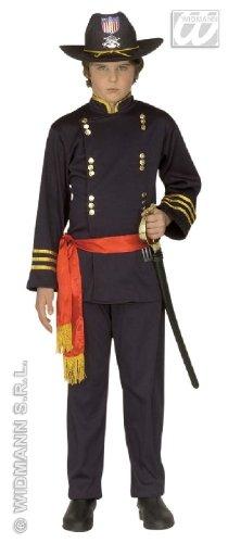 KINDERKOSTÜM - NORDSTAATEN GENERAL - Größe 128 (S) (Bürgerkrieg Soldat Kostüme)