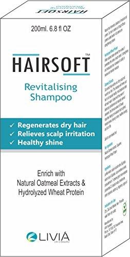 Hairsoft Revitalising Shampoo-200 ml by Livia Healthcare