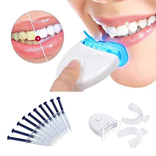 Teeth Whitening, Teeth Whitening Kit Zu Hause Professionelle Zahnaufhellung Set Zahnweiß-Bleichsystem, Zahnaufhellungs Set,Zahnbleaching-Set,Bleaching Kit