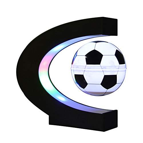 Izzya Fußball-Thema Nachtlicht Schwebe Magnetisch Schwimmend Anti Schwerkraft LED-Lampe Drehen Leuchtend Fußball Tischdekoration