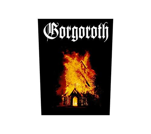 Dorso in gomma - Let Them Gorgoroth - Burn Gorgoroth back vivigade