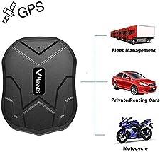 Erklärung: GPS-Tracker wurden nach den Bestimmungen der Bundesnetzagentur hergestellt. Es wird legal verkauft und verwendet. Andere Funktionen: ✔ Smart Alarm für Energiesparmodus und Energiesparmodus: Intelligentes Energiemanagement, wasserdicht, sta...