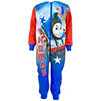 Thomas Boys Tank Engine Fleece sleepsuit Pyjamas Sizes 18 Months to 5 Years