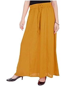 Indian Handicrfats Export WELORA Regular Fit Women's Yellow Trousers