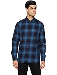 Arrow Sports Men's Checkered Slim Fit Casual Shirts at FLat 70% OFF low price image 12