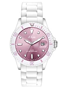 s.Oliver Damen-Armbanduhr Analog Silikon SO-2456-PQ