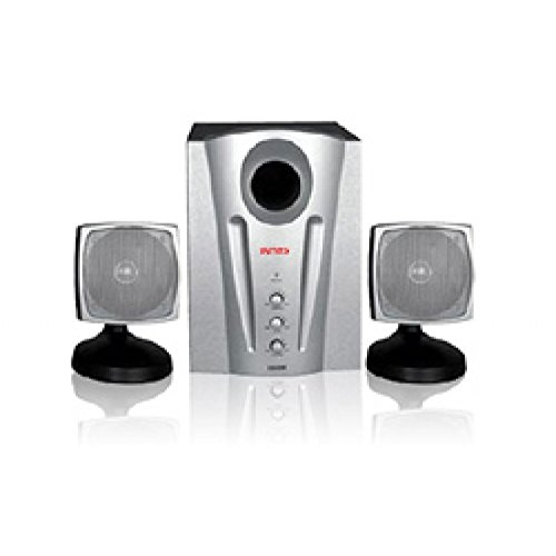 Intex IT-2000 SB 2.1 Channel Low Noise Multimedia Speakers  available at amazon for Rs.1153