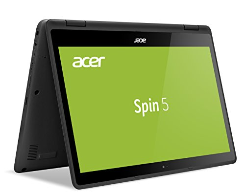Acer Spin 5 SP513-52N-84D4 33,8 cm (13,3 Zoll Full-HD IPS Multi-Touch) Convertible Laptop (Intel Core i7-8550U, 16GB RAM, 512GB SSD, Intel UHD, Win 10) Grau