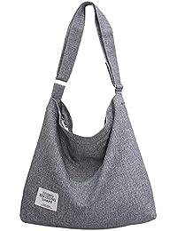 Bolsos Mujer,Fanspack Bolso Bandolera de Lona Hobo Bag Bolsos de Crossbody Bolsas de Hombro para Multifuncional