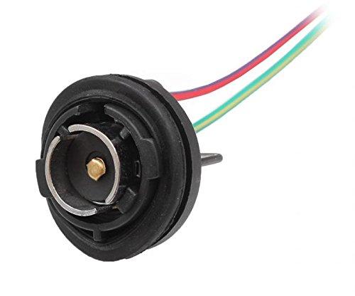 Onpira 2X Lampenfassung Sockel Fassung Schiff Boot Lampe Positionslampe (BA-15S) -