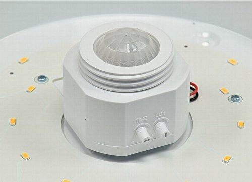 Plafoniere Con Sensore Di Presenza : Plafoniera con sensore di luce a led movimento