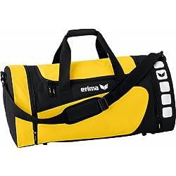 Erima Sporttasche, Gelb/Schwarz, S, 28 Liter, 723333