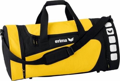 Erima Sporttasche, Gelb/Schwarz, M, 49.5 Liter, 723333 -
