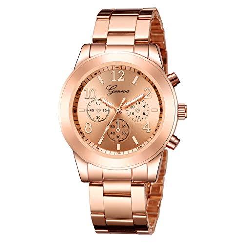 Ausverkauf  Herren Uhren, Männer Fashion Militär Sport Chronograph Schwarz Edelstahl Armbanduhr Design Business Datum Kalender Modisch Analog Quarzuhr LEEDY
