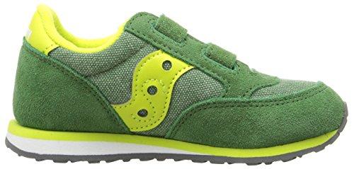 SAUCONY ST56368 JAZZ HL blu scarpe bambino boy strappo Verde