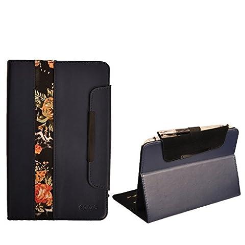conze Folio Schutzhülle mit Ständer kompatibel mit Asus MeMo Pad? HD 8(ME180A) mehrfarbig (Asus Memo Pad Hd 8)