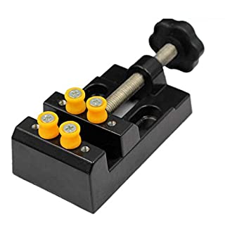 Rekkles Home Vise Table Bench Vise Jewelry Craft Modeling Work Lock Fixed Brand Repair Tools