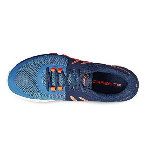 Asics Gel di Craze TR 4 Azzuro-Arancione-Blu marino