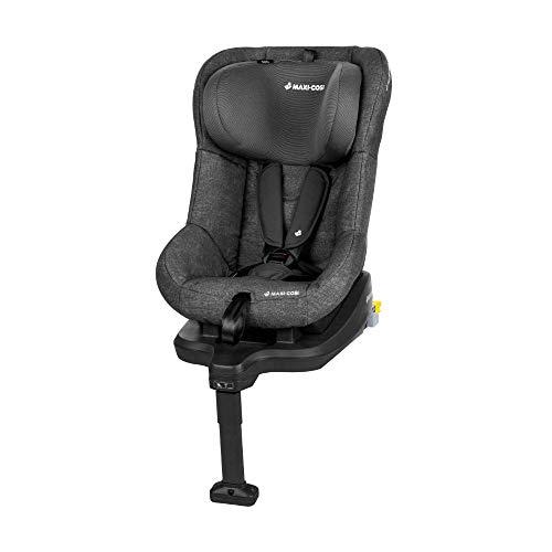 Maxi-Cosi TobiFix, Kindersitz mit fünf komfortablen Sitz- und Ruhepositionen + mit ISOFIX, Gruppe 1 Autositz (9-18 kg), nutzbar ab 9 Monate bis 4 Jahre, nomad black