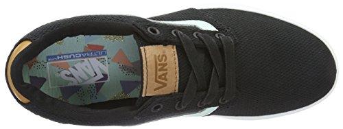 Vans Wm Chapman Lite, Sneakers Basses Femme Noir (Mesh)