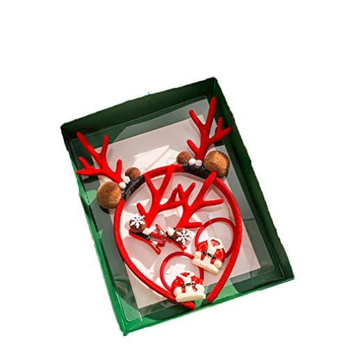 unbrand Kinder Weihnachten Stirnbänder Kostüm Haarschmuck für Weihnachts- und Weihnachtsfeiern