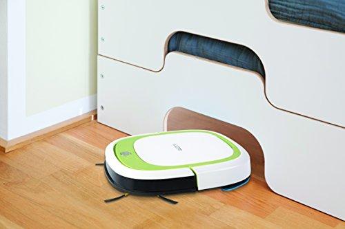 Ecovacs Robotics Deebot Slim - Ultra-flacher Staubsaugerroboter mit Direktabsaugung (optimiert für Tierhaare) -