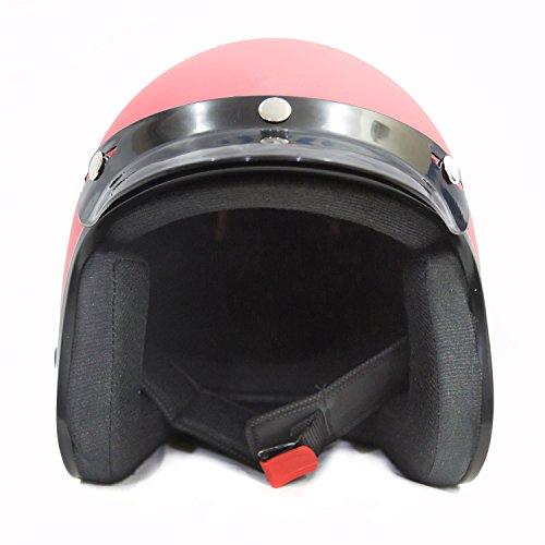 Autofy Trust Front Open Helmet (Pink, M)