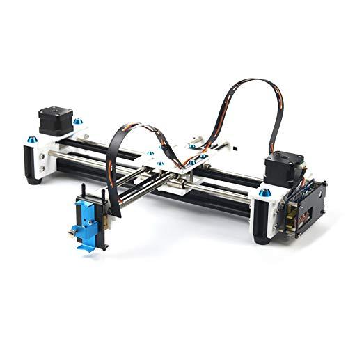 SISHUINIANHUA Mini XY 2 Achsen CNC-Pen Plotter DIY Ziehmaschine Drucker 28 * 20cm Gravur Genauigkeit 0,1 mm