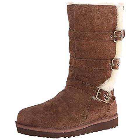 UGG Australia Girls Maddi Chocolate Western Boot -