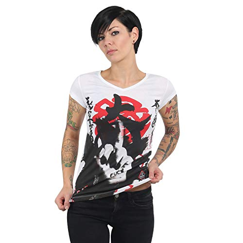 Yakuza Damen Japanese V-Neck T-Shirt