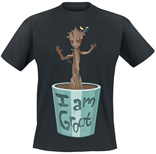Guardians Of The Galaxy I Am Groot T-Shirt nero M