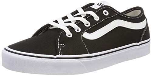 Vans Damen Filmore Decon Suede Sneaker, Schwarz ((Canvas) Black/True White 1wx), 36 EU