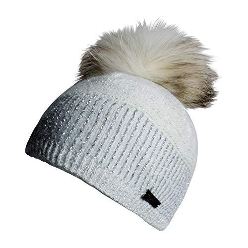 Norton Damen Mütze 8003 Farbe Weiß Grau