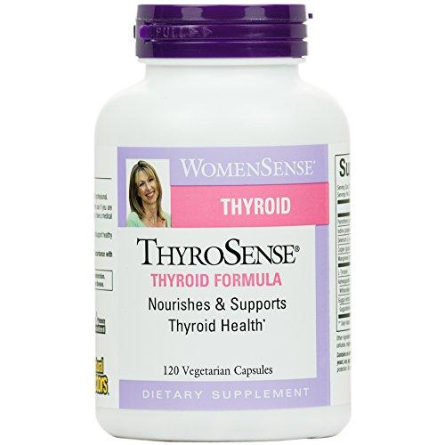 Natural Factors - WomenSense - ThyroSense - Formule Thyroïde - 120 Comprimés Bio